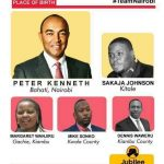 DESPERATION: Jubilee Nairobi Governor Hopeful Peter Kenneth STONES HIMSELF in Kayole, Stage managed CHAOS to gain Sympathy