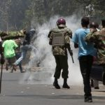 Kenya police shoot and kill 200 opposition protesters ahead of new election