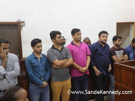 Seven Pakistanis charged with working in Kenya illegally