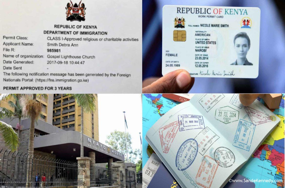 HOW TO APPLY FOR A WORK PERMIT IN KENYA