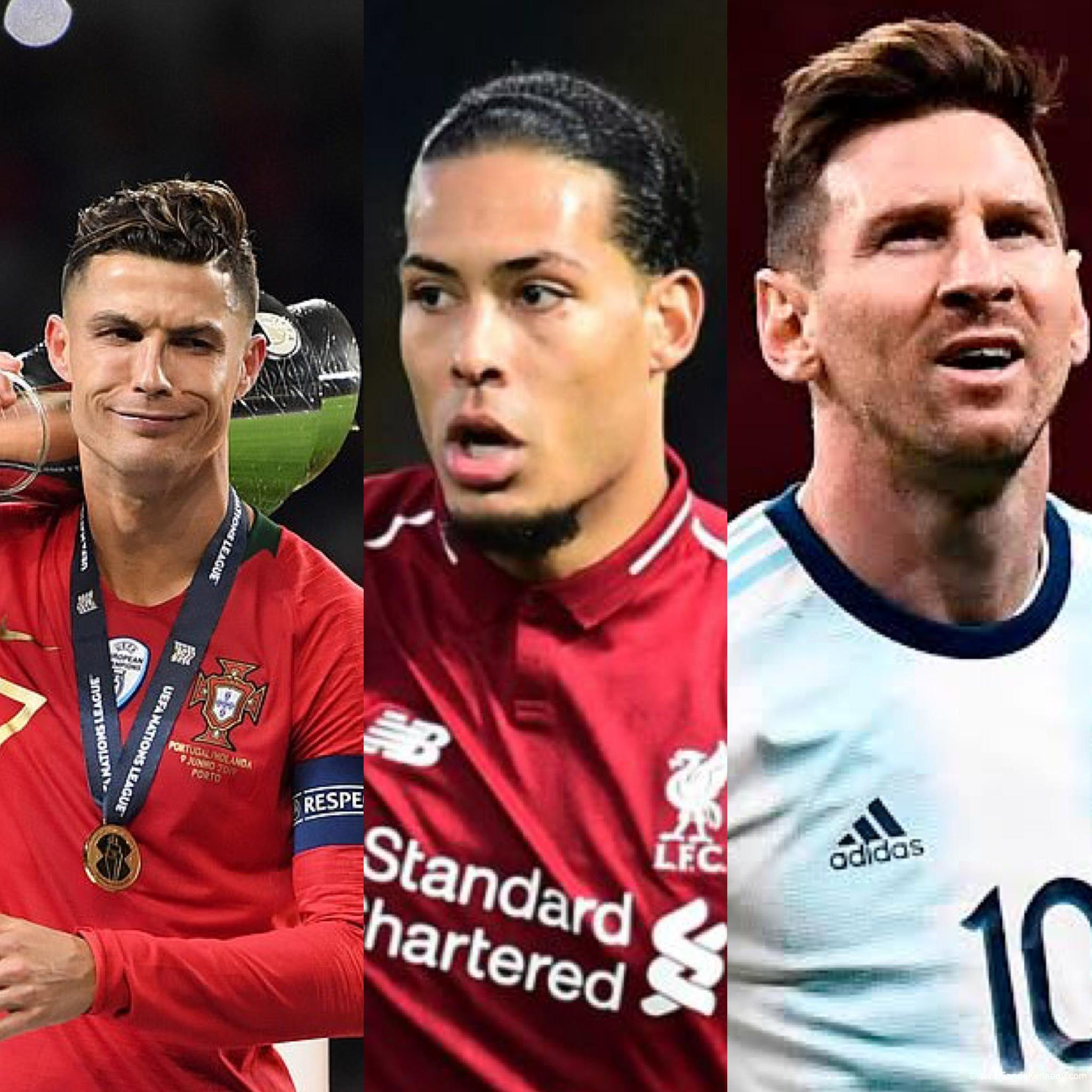 Who do you think will win the Ballon d'or? Lionel Messi, Cristiano Ronaldo or Van Dijk?