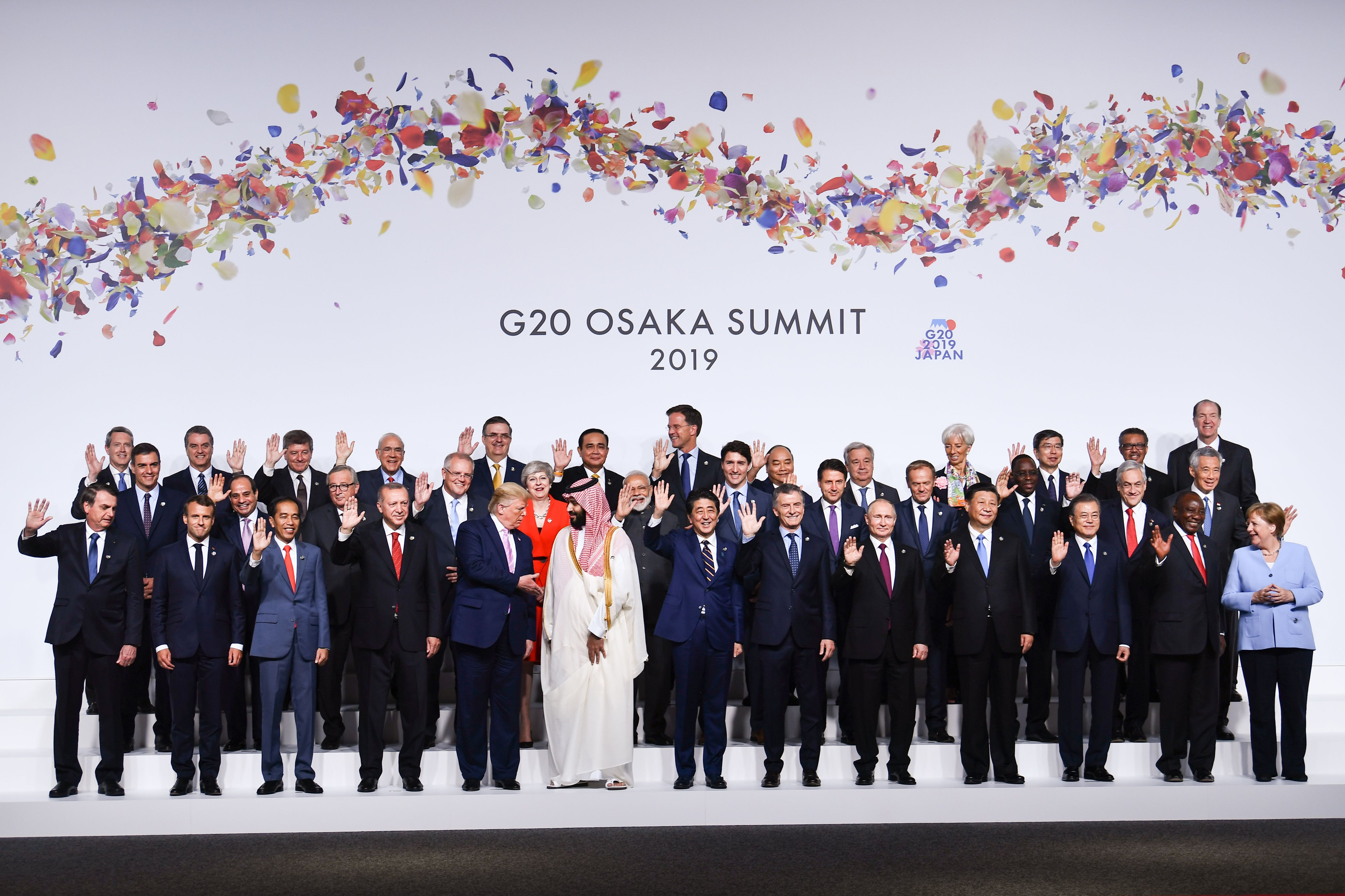 See the photo of Donald Trump and MBS at the G20 summit that everyone is talking about!