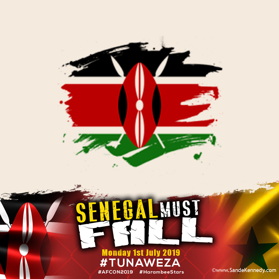 Update your profile picture with the below SENEGAL MUST FALL frame through this link