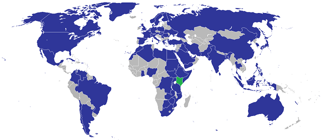 List of diplomatic missions in Kenya and their locations EMBASSIES & CONSULATES IN NAIROBI