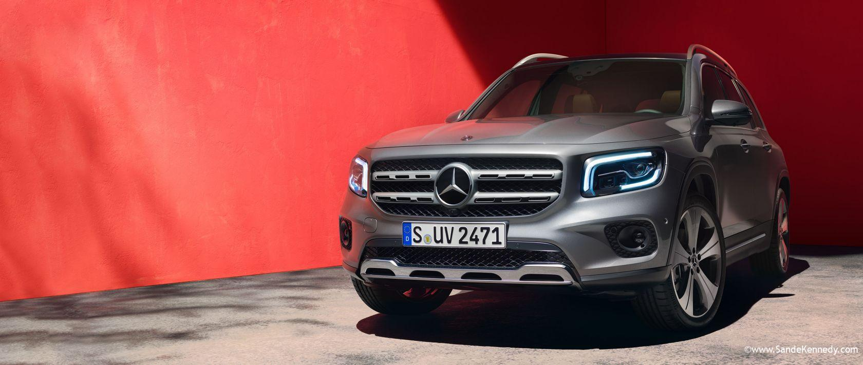 Discover all the facets of the new GLB. 2020 Mercedes-Benz GLB SUV Packs in Tech and Optional Third Seat