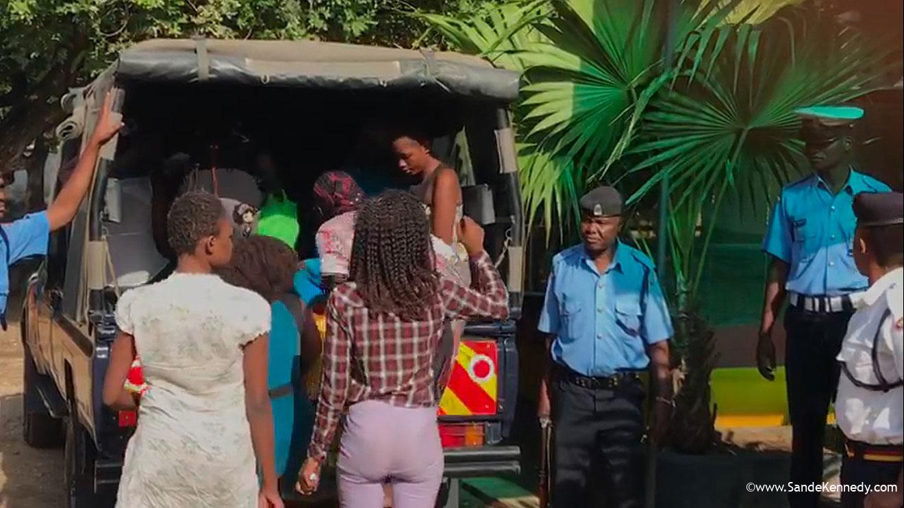 11 Kenyan women arrested in posh house while shooting porn movies – VIDEO