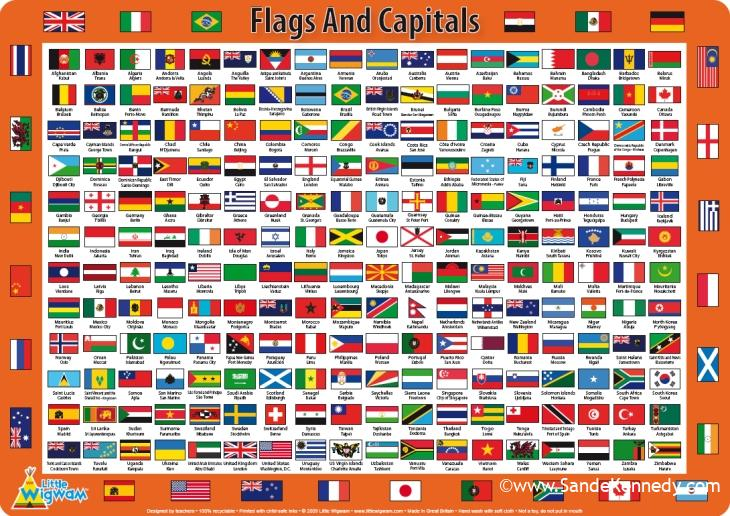 List of national capitals Capitals of Every Independent Country